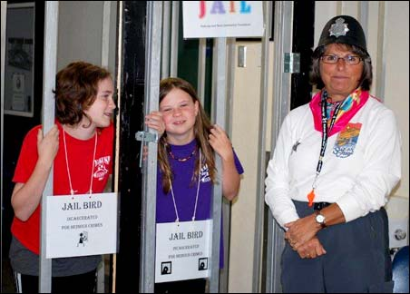 Community Foundation Director: Copper Barb Chwachka keeps two young hooligans under wraps.